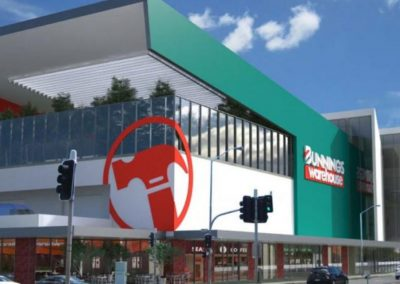 BUNNINGS – CORNER OF PRINCES HIGHWAY SMITH STREET, TEMPE